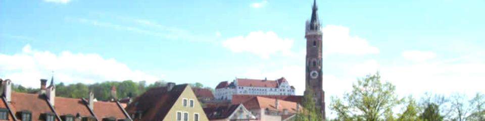 Hotel Park cafe / Burg Trausnitz und Martins Kirche