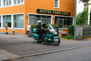 www.hotel-park-cafe.de  Gold wing on Tour